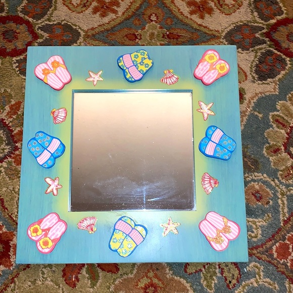 HAND CRAFTED MIRROR BNWOT